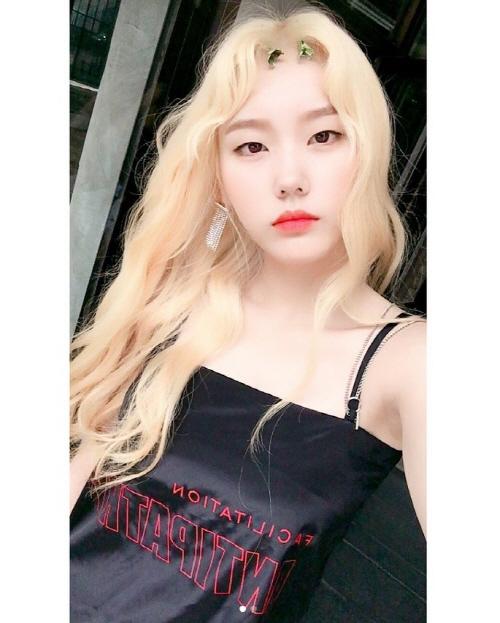 하트시그널 심소영, 금발+민소매까지...'심쿵'