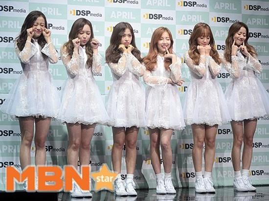 에이프릴 새 앨범 발표, 팬들에 전하는 '파랑새'