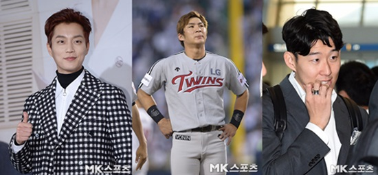 윤두준-손흥민-오지환, 병무청이 주목…반칙은 없다