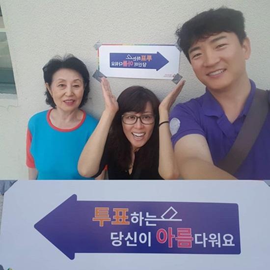 '복면가왕' 홍지민, 강은비·치타·지숙 이어 투표 인증