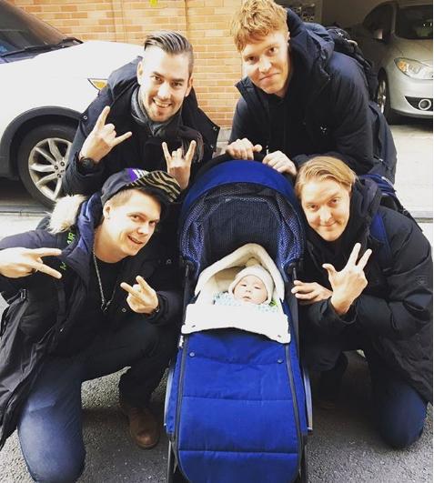"""'어서와' 패트리, 핀란드 3인방과 아들의 만남에 """"친구들이 미꼬를 만났다"""""""