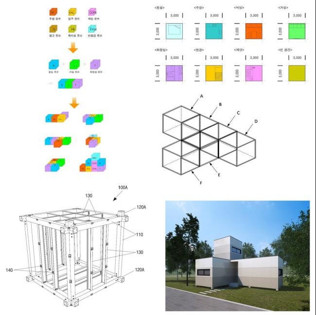 디어건축사사무소(주), '테트리스 하우스 설계 시스템'과 '테트리스 하우스 건축자재' 특허 등록