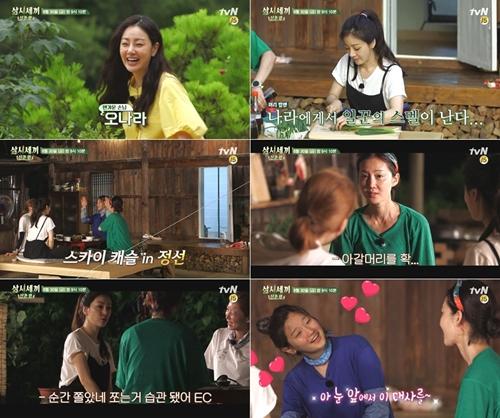 '삼시세끼' 오나라 출연, 손만 대면 척척..'천년 일꾼' 등극