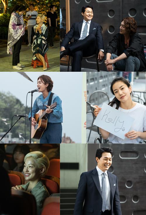 '악마가' 정경호X박성웅X이설X이엘, 특급 케미 '비하인드 컷' 공개
