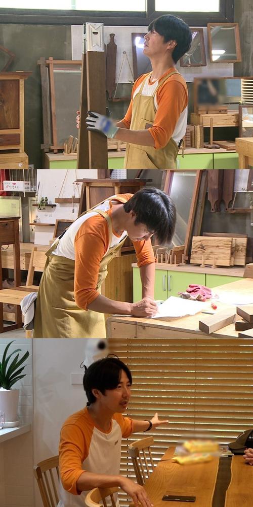 '동상이몽2' 윤상현, 메이비 위해 목수로 깜작 변신..기대감UP