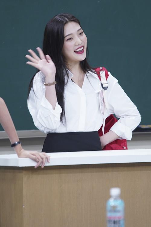 '아는 형님' 강호동, 레드벨벳 조이 도움으로 아이돌 변신