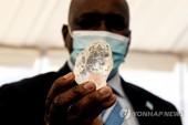 보츠와나서 역대 세 번째로 큰 1천98캐럿짜리 다이아몬드 발견