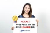 삼성자산운용, KODEX 주식형 액티브 ETF 5종 순자산 2천억 돌파